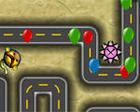 Prv spillet Bloons Tower Defense 4